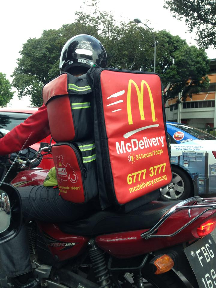 delivery mcdonalds recycles - 720×960